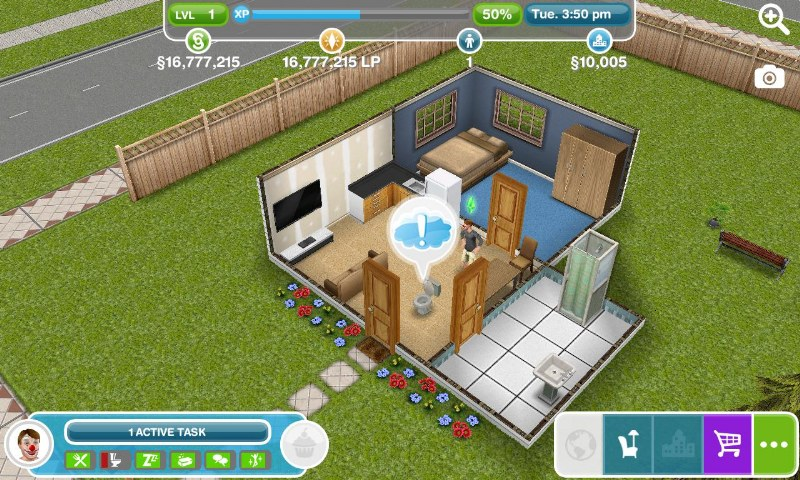 iphone The-sims-freeplay-trucchi-simoleon-soldi-infiniti