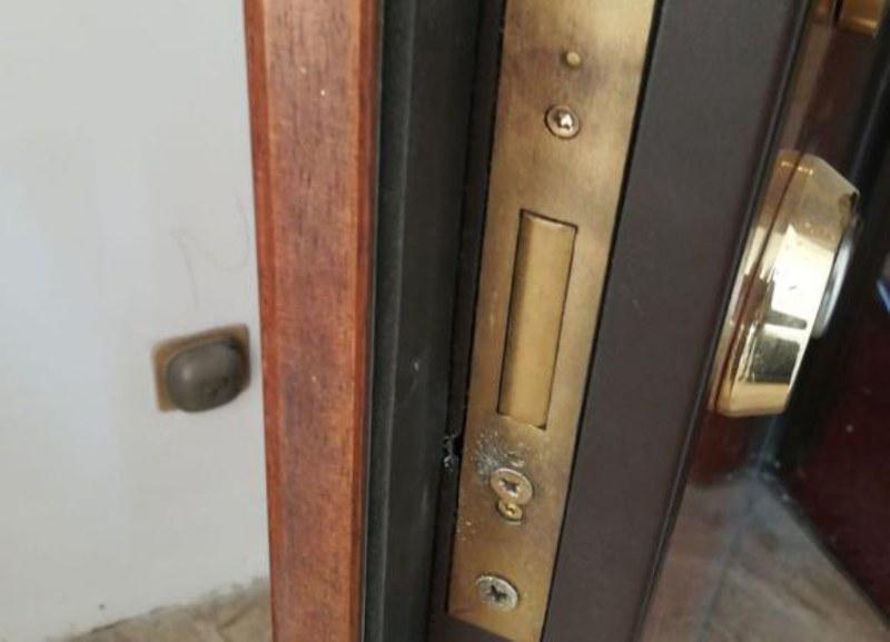 aprire porta blindata
